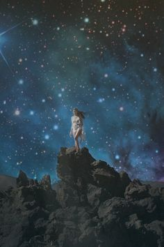 she stood upon the stardust of her soul