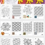 Let's+Draw+ESCHER-STYLE+-13+Coloring+Pages