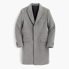 J.Crew Ludlow Peak-Lapel Topcoat In Italian Wool-Cashmere ($450)
