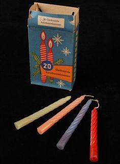 Svíčky na vánoční stromek