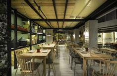 【新提醒】希腊Farma Kreaton餐厅设计 - 室内设计 设计e周