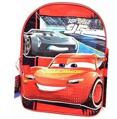 """disney pixar  3 16"""" backpack with lunch kitprism printing"""