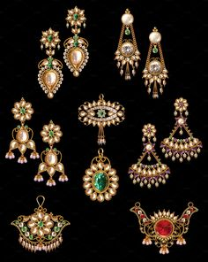 Pear Jewelry by Kailash Kumar on India Jewelry, Pearl Jewelry, Jewellery, Fashion Beauty, Asia, Brooch, Pearls, Antiques, Amazing