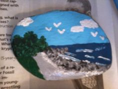 Painted Rock Paperweights by AligglesShop on Etsy