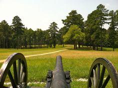 Civil War Battlefield in Petersburg, VA