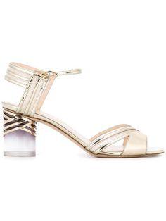 Shop Nicholas Kirkwood 65mm Zaha sandals.