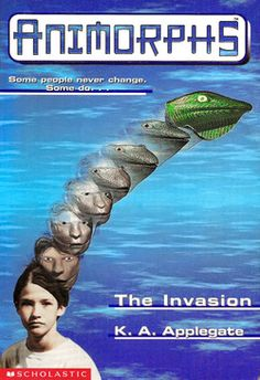 In light of a certain movie in development . . . the Animorphs series by K.A. Applegate.  It's about parasitic aliens secretly taking over the human race and a group of teenagers who fight them using alien morphing technology.  It's like The Host by Stephenie Meyer.  Only good.  And the aliens are not Mary Sues.