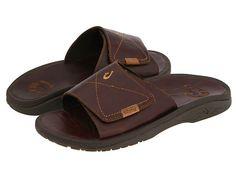 OluKai Ohana Leather Slide Dark Java/Dark Java - Zappos.com Free Shipping BOTH Ways