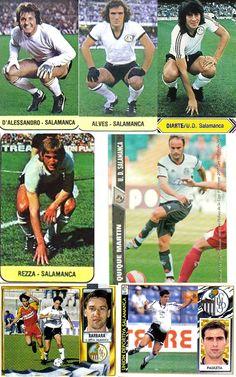 La Liga hecha un cromo. leyendas UD SALAMANCA