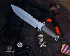 Relentless Knives M4 ReCon  3v steel Military Survival knife