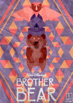 Disney Classics 44 Brother Bear by on DeviantArt Disney Pixar, Disney Films, Disney Fan Art, Disney And Dreamworks, Disney Animation, Disney And More, Disney Love, Disney Magic, Bernard Bianca