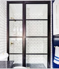 old school style shower