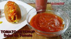 KETCHUP   Salsa de Tomate receta fácil y rápida