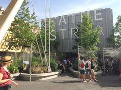 #Padiglione #Austria #expo2015_ L'Austria ha voluto trattare il tema dell'aria per questo evento mondiale. Anch'essa fondamentale per la vita dell'uomo, necessita di un aiuto da parte nostra per renderla miglio...