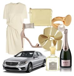 """Egy tökéletes bál.. "" by domonkos-nagy-parragh on Polyvore featuring Chloé, Lanvin, Aquazzura, Mercedes-Benz, Etro, Krug, Creed, women's clothing, women's fashion and women"