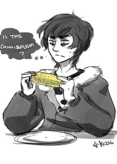 I like to think that Nico can't eat corn anymore since HoH. And gets really upsets when other people eat corn around him. Like, snatches the corn out of people's hand when they're about to bite.