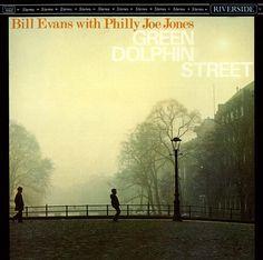 Bill Evans | On Green Dolphin Street | Jazz Album Cover