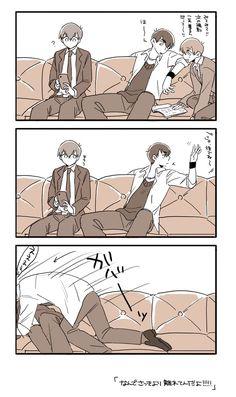 かまって次男 pic.twitter.com/btH...