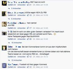 Kommentare der LASK Fans zum Testspiel gegen Red Bull Salzburg
