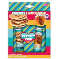Perfect pair pancake& maple syrup|Claire's
