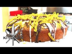 Chocolate & Orange Cake - Video Recipe