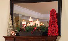 TwinStar International: Winter Mantel Decorating Tips