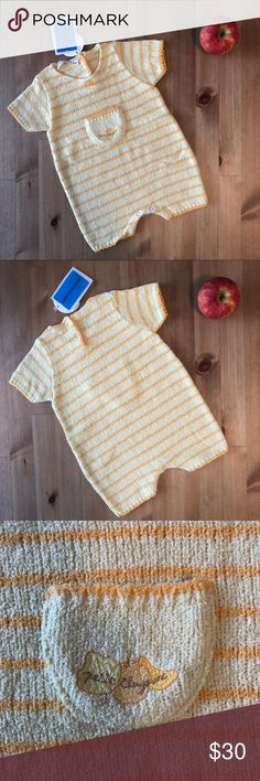 Clayeux NWT Cousu d'amour yellow knit romper Girls White Dress, Apple Prints, Britney Jean, School Dresses, Knitted Romper, Red Boots, Handmade Dresses, Pocket Detail, White Long Sleeve