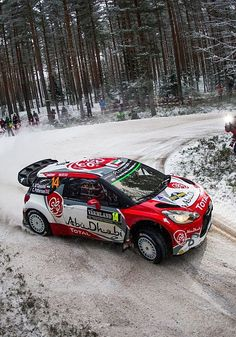Citroën DS3 WRC - Rally Sweden 2016
