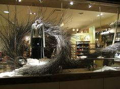 Anthropologie Display ~giant wreath~