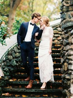 Handsome Groom Style and English Countryside Inspiration