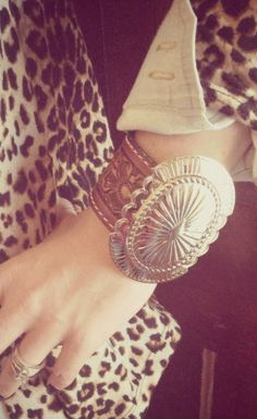 SoUth By SoUtHWeSt LeAthEr Cuff