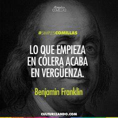 Benjamín Franklin.