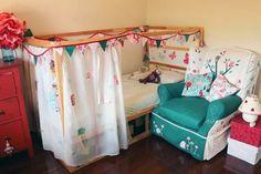 IKEA KURA Hack: Princess Bed