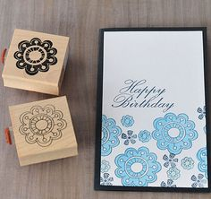 1000 images about impress rubberstamps on pinterest for Impress cards and crafts