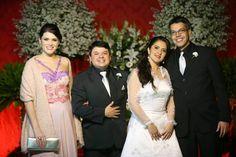 COMMEMORI EVENTOS Fotógrafo: Altair Braga: Casamento de Daniele e Wallace com fotos de Altair...