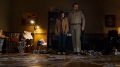 David Harbour's 'Stranger Things Spoilers Hint That Joyce & Hopper Could Finally Happen, But It Won't Be Easy Stranger Things Tv Series, Stranger Things Season 3, Stranger Things Netflix, David Harbour Stranger Things, Shadow Monster, Hollywood Forever Cemetery, Joyce Byers, Stranger Things Halloween, Duffer Brothers