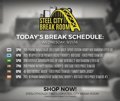 Today's Break Schedule: 40-Box Football Mega Mixer Emmitt Smith signed jersey Giveaway & much more!  http://ift.tt/2cz4yff  #NFL #NBA #NHL #MLB #football #basketball #hockey #baseball #multisport #groupbreak #hobby #thehobby #sccbreakroom
