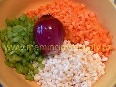 Zeleninová tarhoňa – Maminčiny recepty Grains, Rice, Food, Essen, Meals, Seeds, Yemek, Laughter, Jim Rice