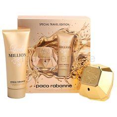 Paco Rabanne LADY MILLION special travel edition Paco Rabanne Lady Million, Fragrance, Bags, Travel, Handbags, Viajes, Totes, Destinations, Lv Bags