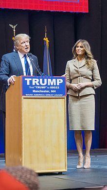 President Donald Trump & First Lady Melania Trump