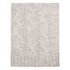 Bedroom inspiration and bedding decor | The Light Grey Merino Wool Throw | Crane and Canopy