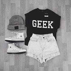 Imagen de fashion, geek, and outfit