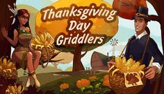 Spice up your autumn days as you play tricky nonogram puzzles!  http://toomkygames.com/download-free-games/thanksgiving-day-griddlers