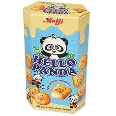 I love these things! :D Not only are they super delicious, but they have cute little pandas printed on them! :3