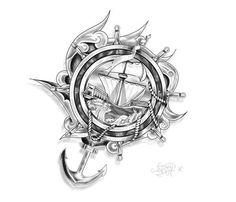 Traditional Sinking Ship Tattoos hd