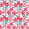 Michael Miller  Nearby Floral in Aqua  1 Yard by PKFabulousFabric, $8.00