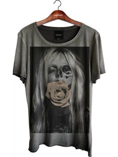 Camiseta Relax - Half Girl Face