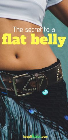 Do you wonder what exercises target belly fat? Or what kind of equipment is needed for that? Find out the only scientific way to lose belly fat forever. | flat belly diet | flat belly workout | lose belly fat | @keepitkiwi.com