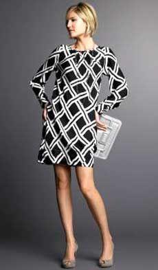 Это женственное платье очень просто сшить даже начинающей портнихе. Главный козырь этого платья — необычная клетка в черно-белой гамме. Прежде, чем приступать к моделированию выкройки этого платья, необходимо построить Выкройку-основу платья по собственным меркам...