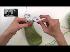 "Reinforcing Sock Heels and Toes    Links to things you'll see in this video -     Beautiful violet-colored double pointed needles by Signature Needle Arts:  http://www.signatureneedlearts.com/    My ""Cheaper than Therapy"" sock kni..."